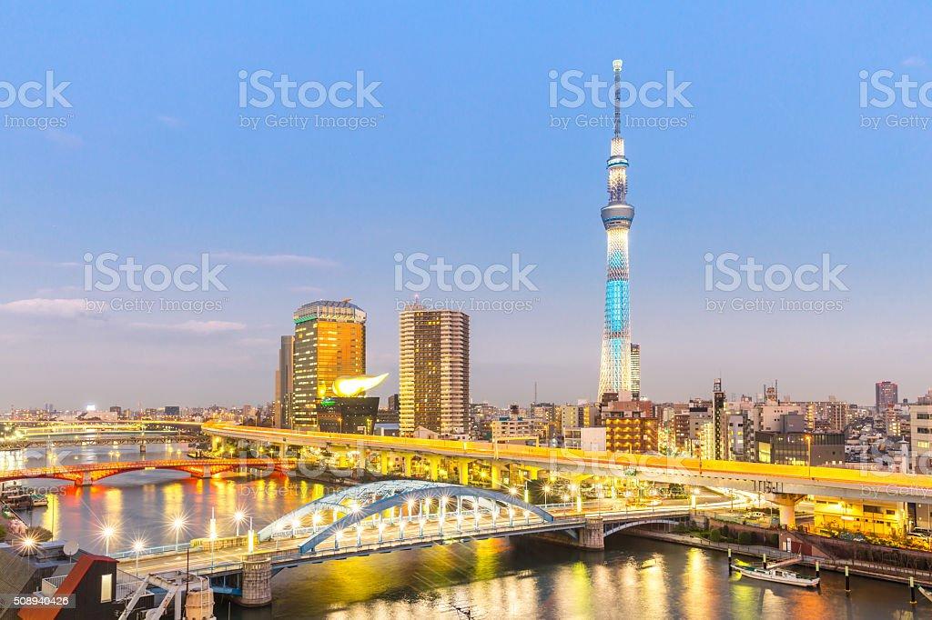 Tokyo skytree stock photo
