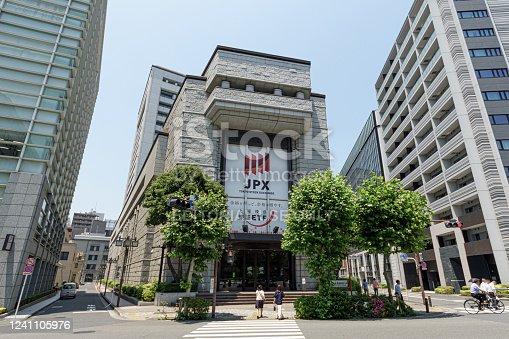 Tokyo Stock Exchange in early summer