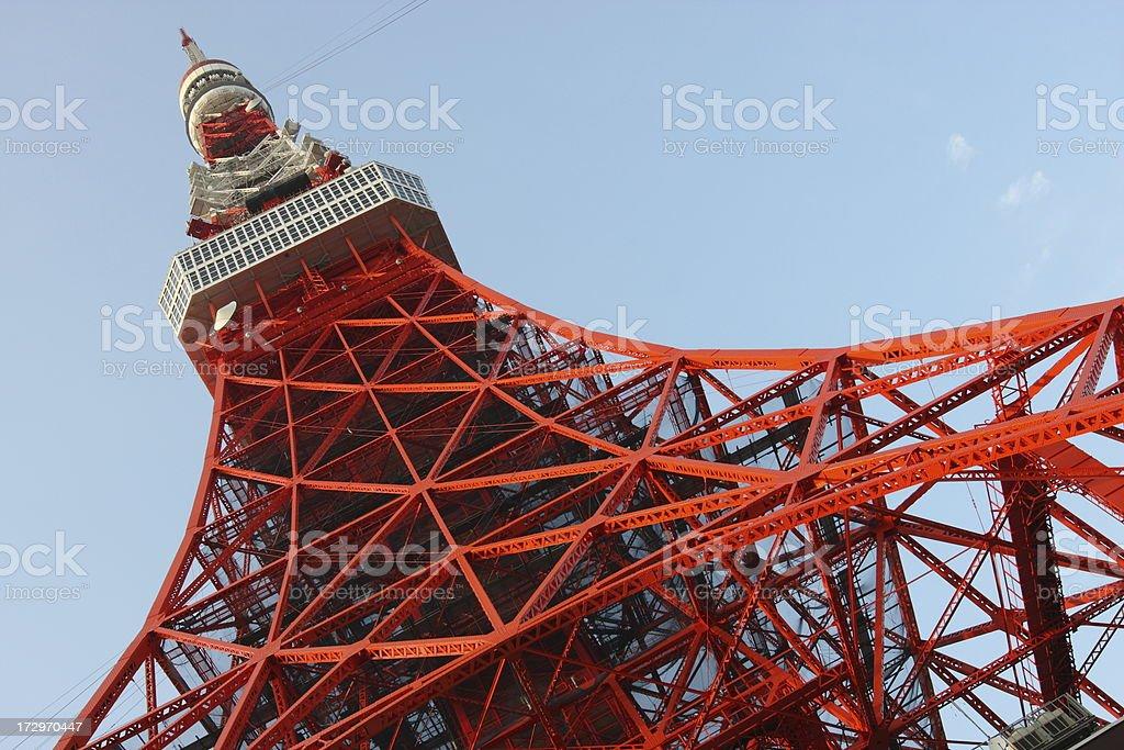 Tokyo Tower royalty-free stock photo