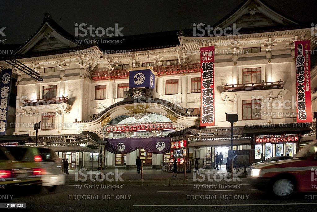 Tokyo traditional theatre stock photo