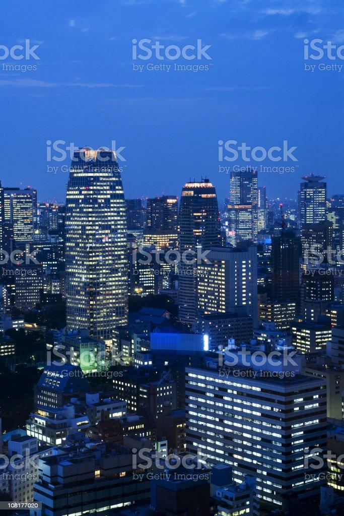 Tokyo twilight royalty-free stock photo