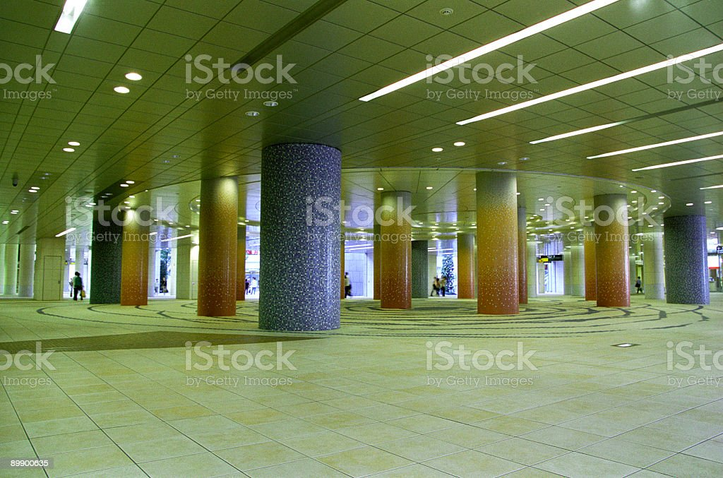 Tokyo underground royalty-free stock photo