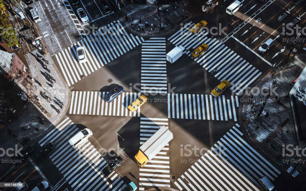 Tokio-Stadtverkehr – Foto
