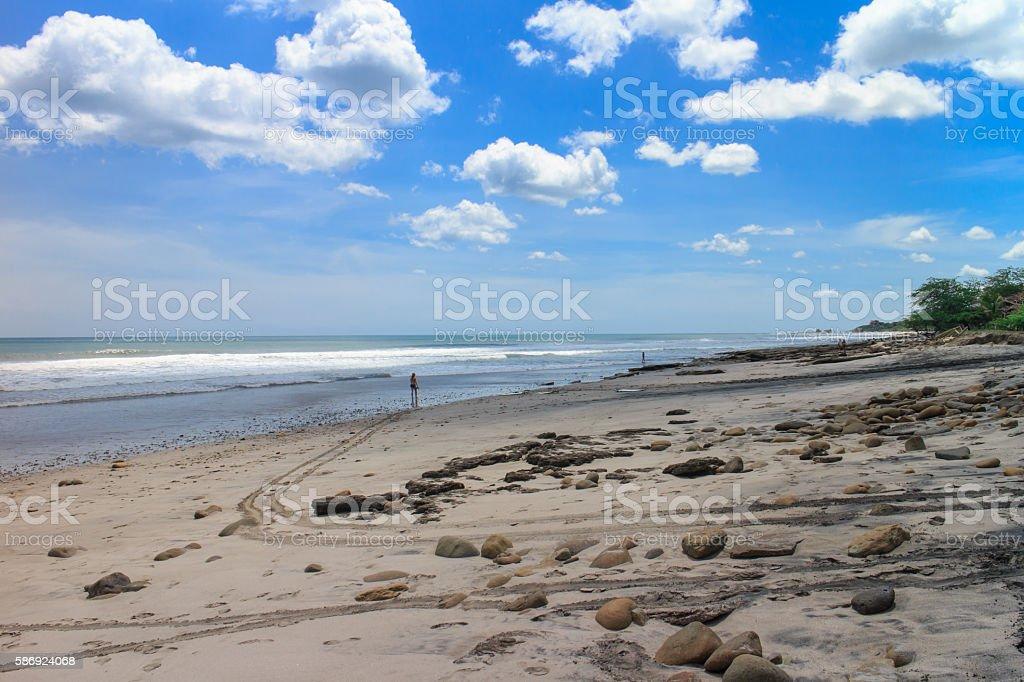 Tola Beach, Nicaragua stock photo
