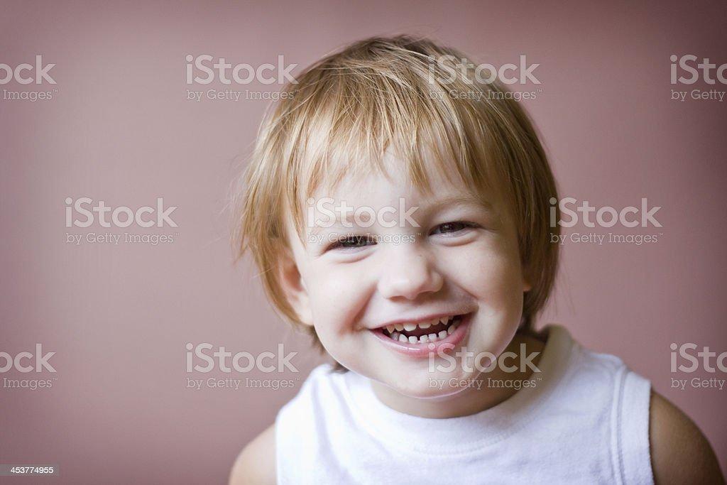 Toldler Smile stock photo