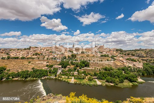 istock Toledo, beside the Tagus River, Spain 833247084