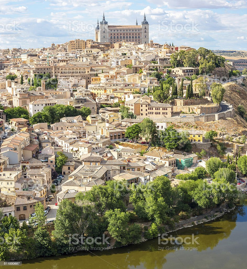 Toledo Cityscape stock photo