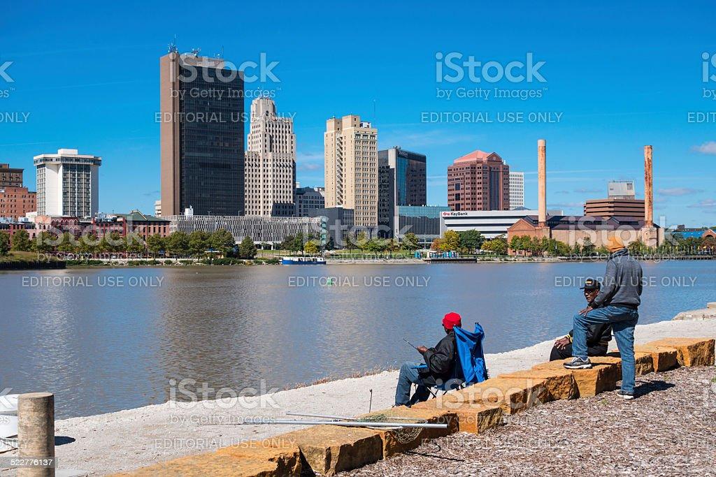 Toledo, Ohio, USA stock photo