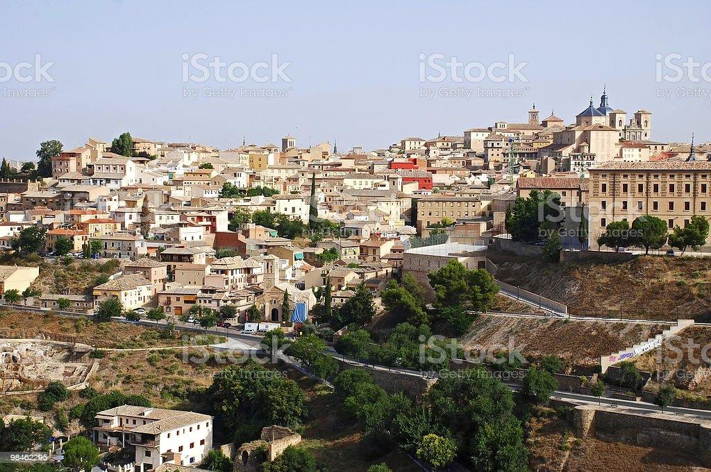 Toledo royalty-free 스톡 사진