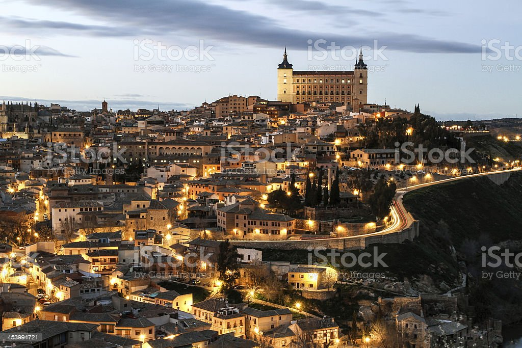 Toledo view royalty-free stock photo