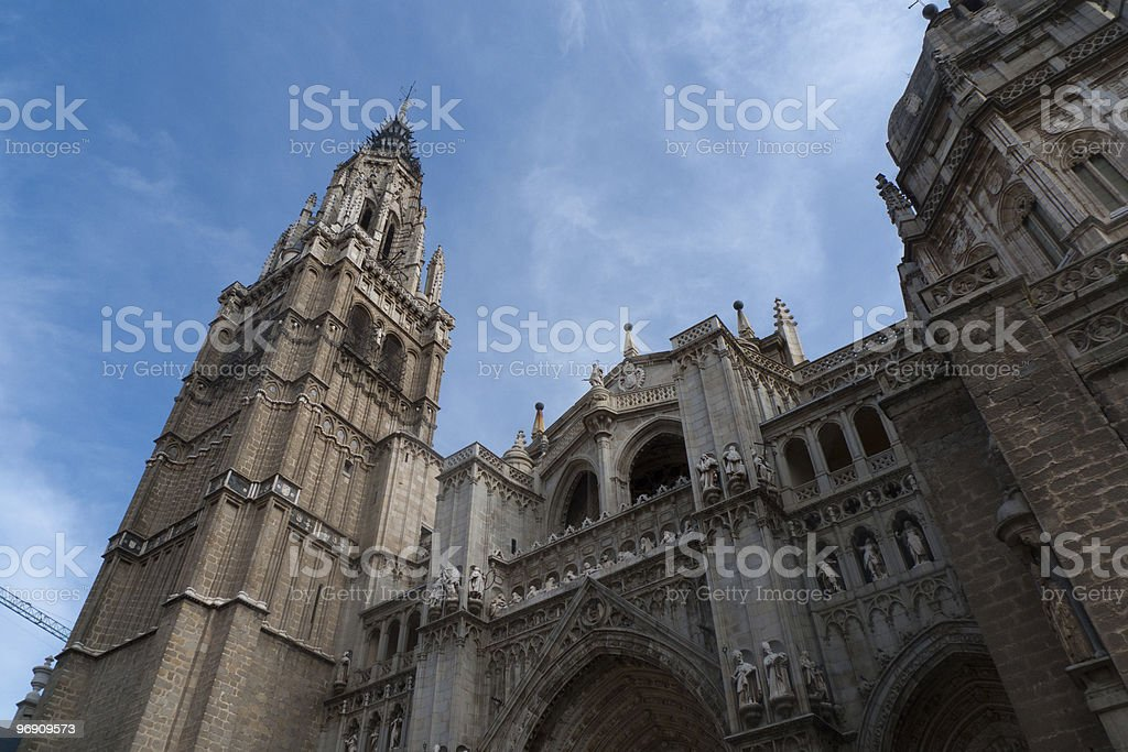 Toledo's Cathedral royalty-free stock photo