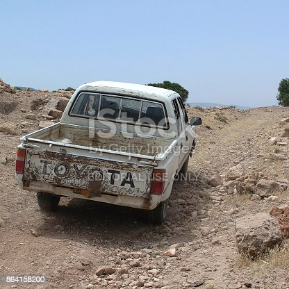 Tolemaide Libya Stock Photo & More Pictures of 4x4