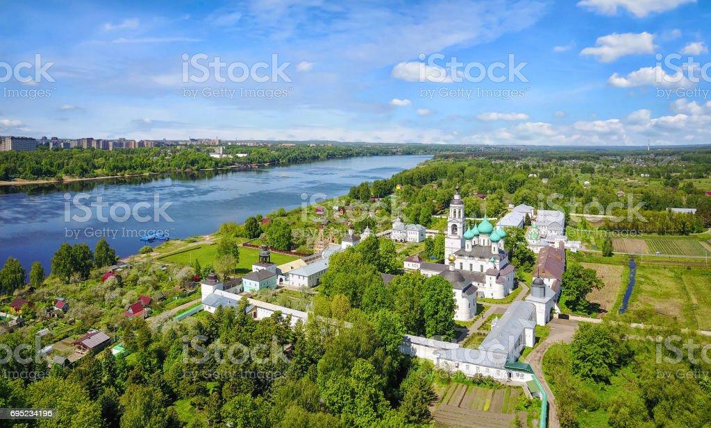 Tolgskiy Monastery near Yaroslavl, Russia stock photo