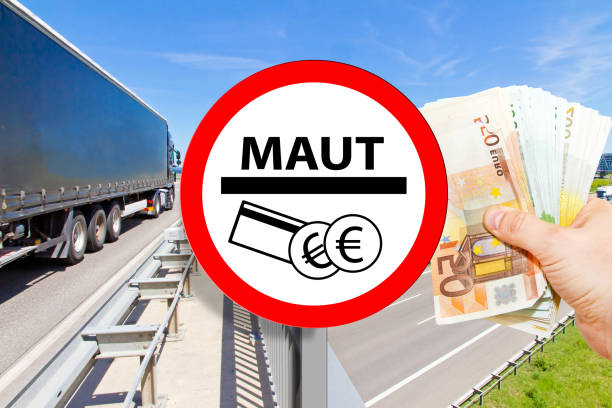 Maut - Toll on highway – Foto