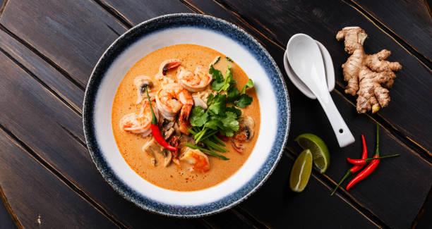 Tom Yam Kung scharfe Thai-Suppe – Foto
