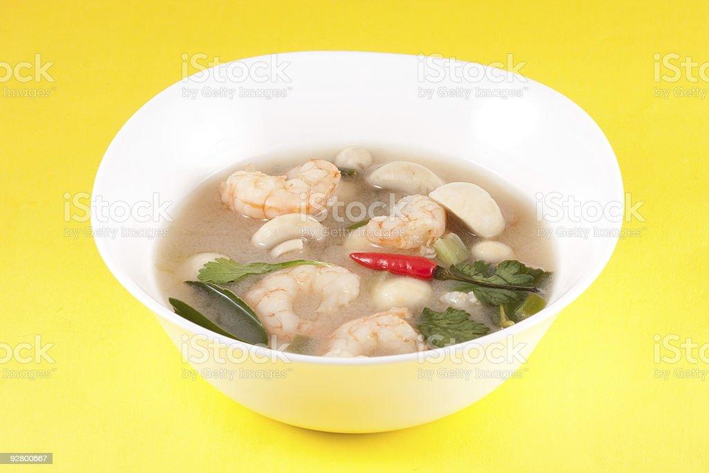 Tom Yam - Thai Soup royalty-free stock photo