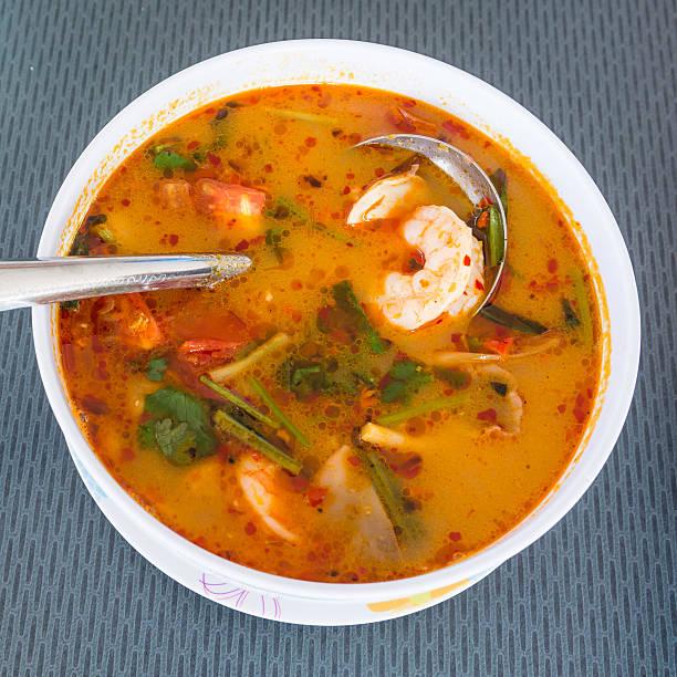 Tom Yum Goong, thailändische Küche – Foto
