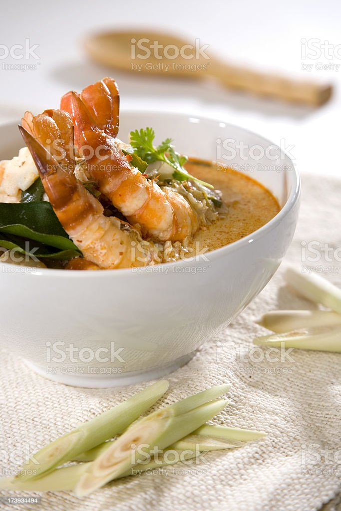 Tom Yum Kung royalty-free stock photo