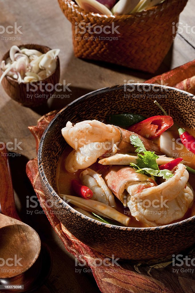 Tom Yum Kung stock photo