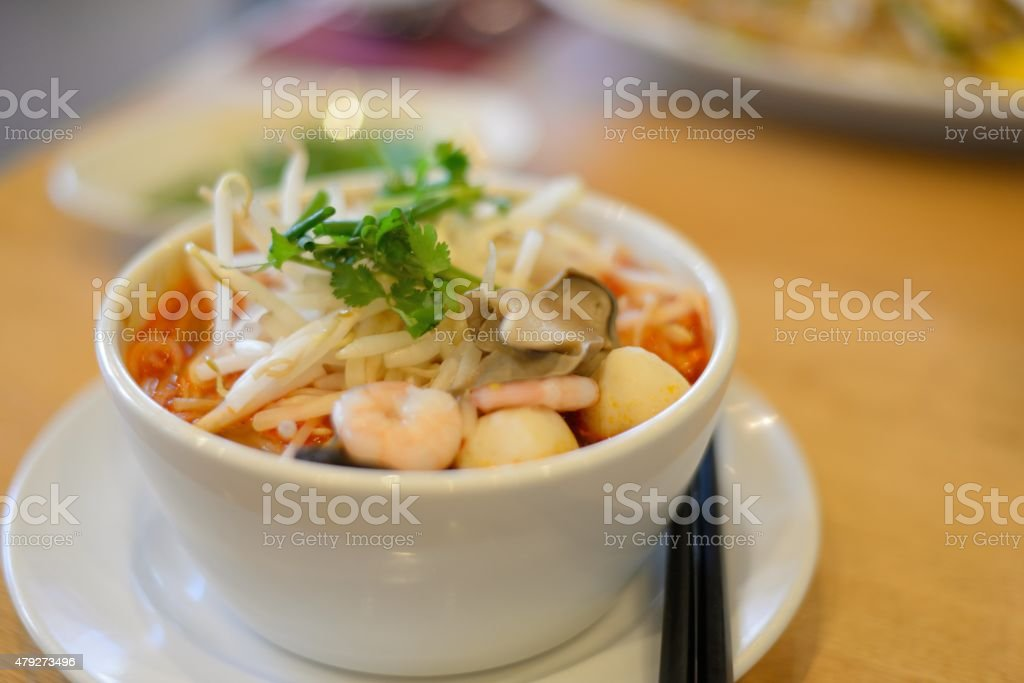 Tom yum stock photo