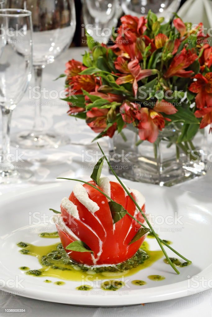 Tomate caprese 1 stock photo