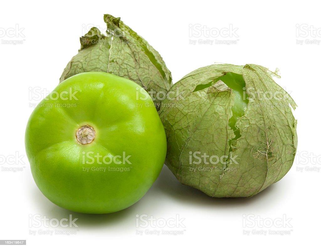 Tomatillos stock photo