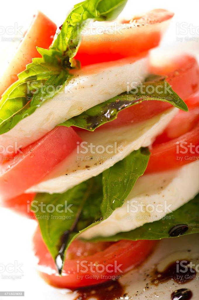 Tomato Bocconcini royalty-free stock photo