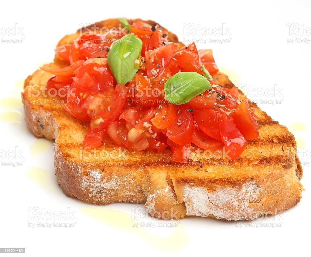 Tomato Bruschetta royalty-free stock photo
