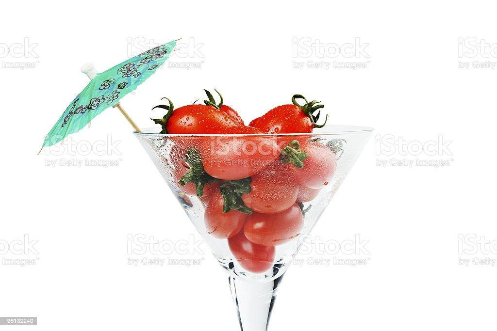 Tomato cocktail royalty-free stock photo