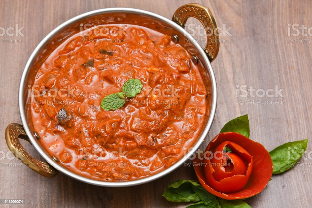 Tomato Curry An Indian Vegetarian Side Dish For Chapati Roti