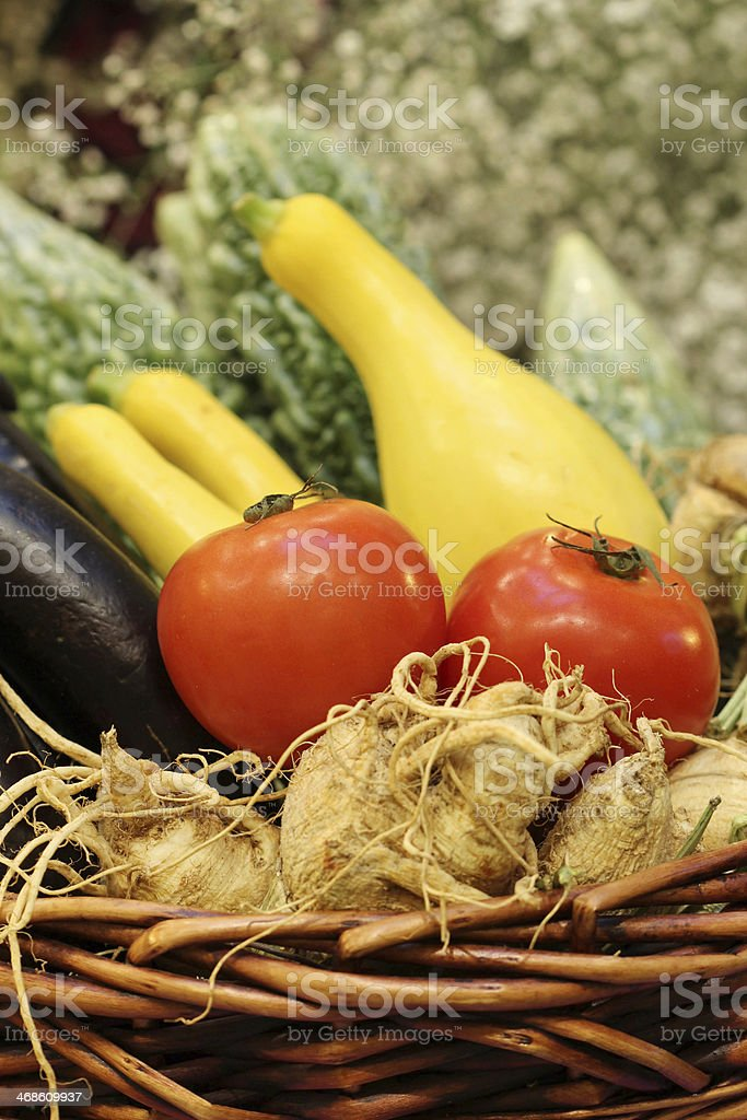 tomato in vegetable royalty-free stock photo