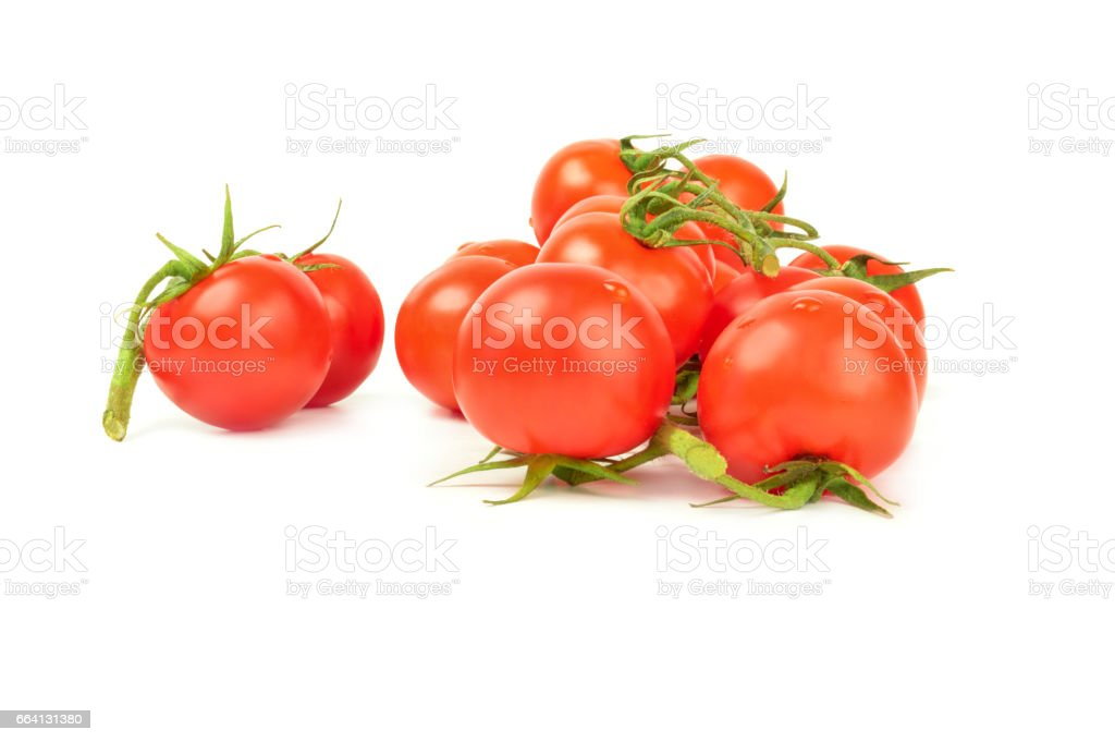 Tomato isolated on a white background with clipping path foto stock royalty-free
