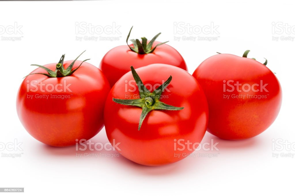 Tomato isolated on white background. royalty-free stock photo