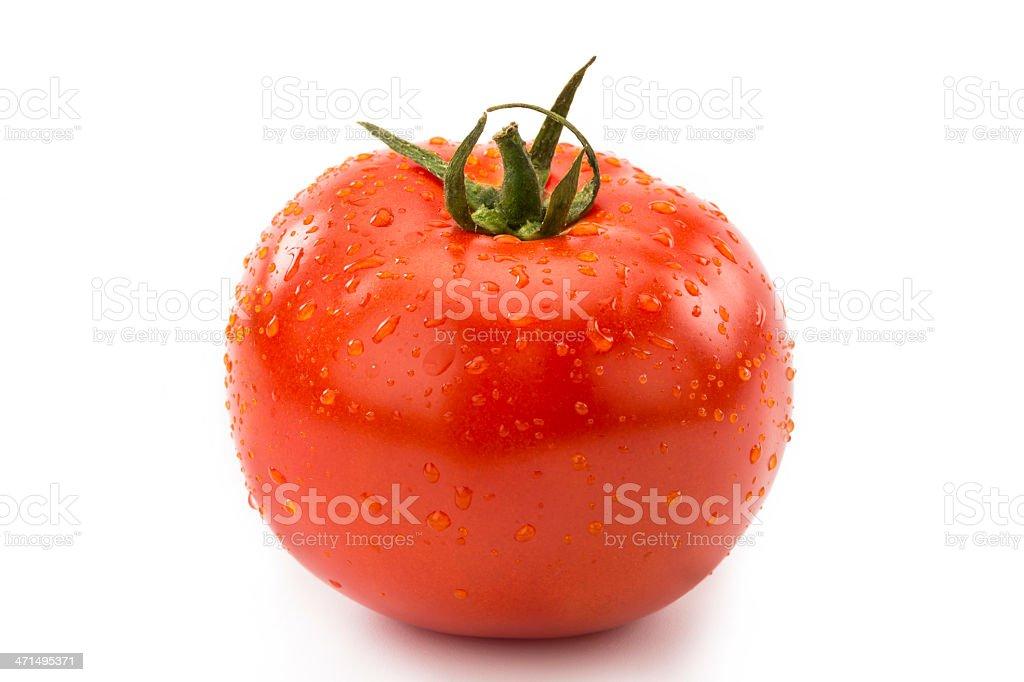 Tomato isolated on white. royalty-free stock photo