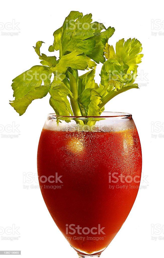 tomato juice cocktail royalty-free stock photo