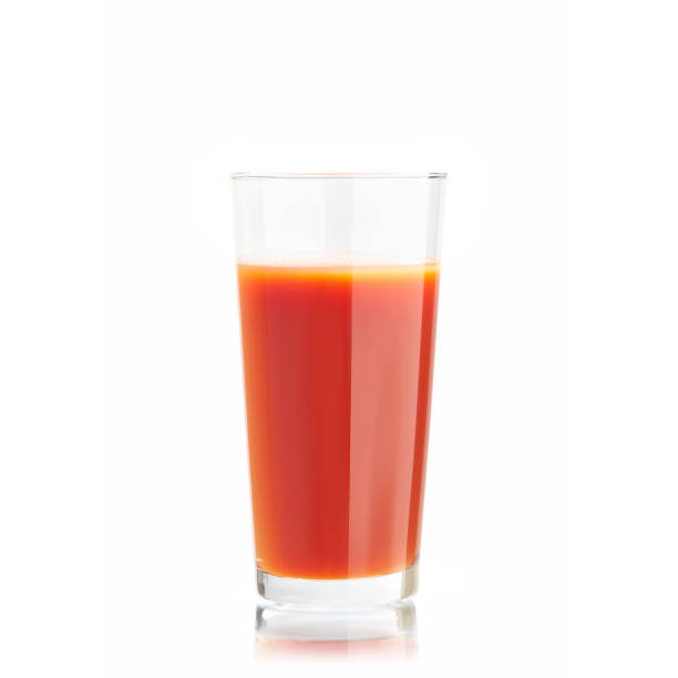 Tomato juice Tomato juice on a white background vegetable juice stock pictures, royalty-free photos & images