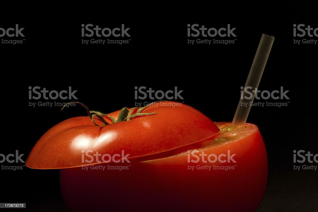 I LOVE Tomato Juice stock photo