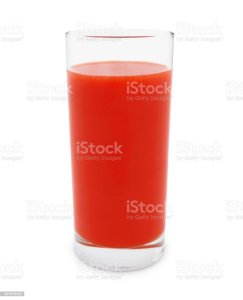 Tomato Juice (with path) stock photo