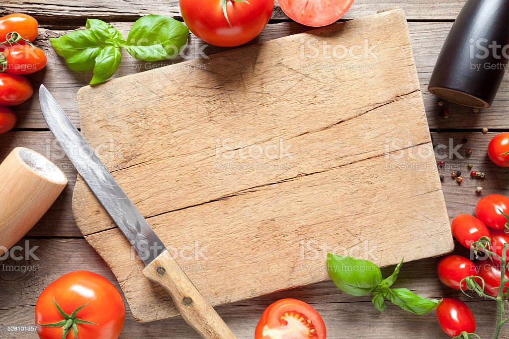 High Quality ... Tomato On Old Wooden Table Stock Photo · Light Wooden Square Shaped Cutting  Board Stock Photo · Fresh Vegetables ...