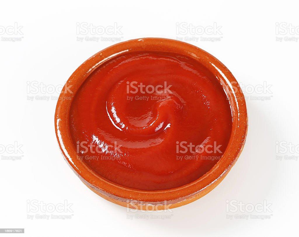 Tomato passata royalty-free stock photo