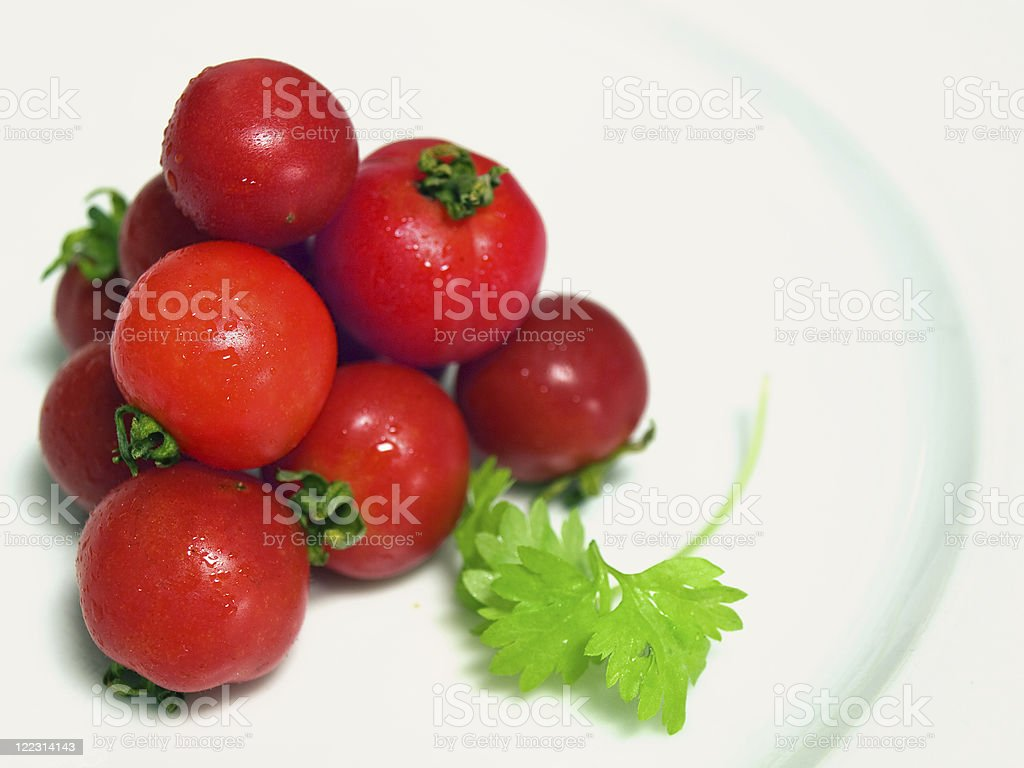 Tomato pyramid royalty-free stock photo