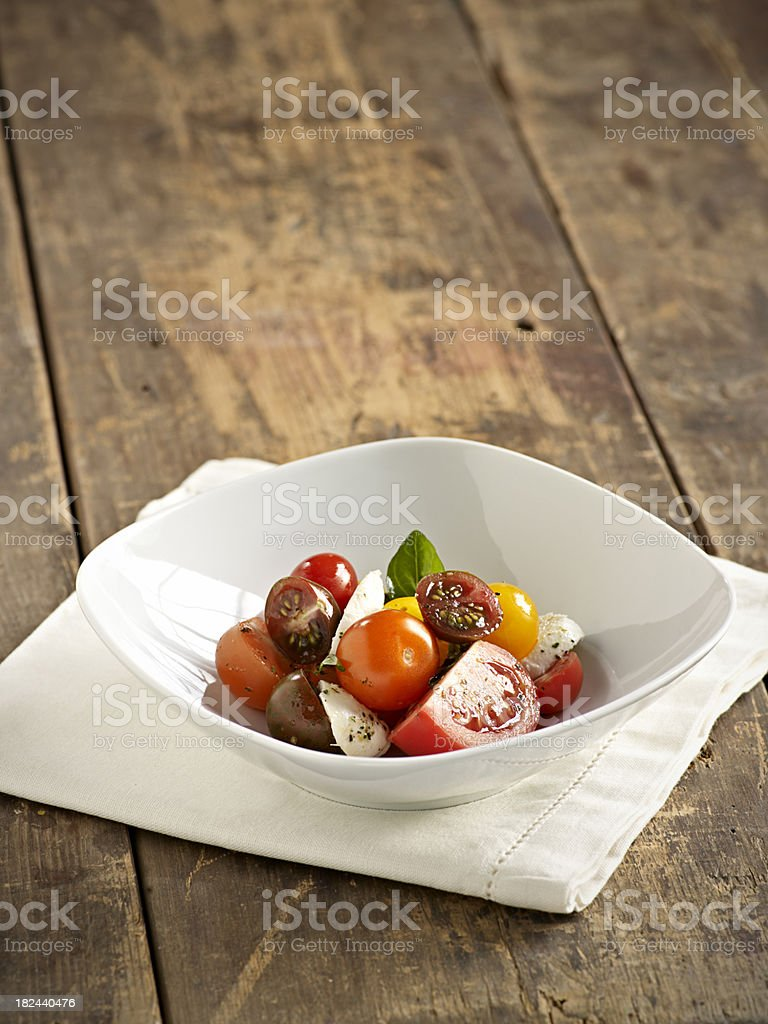 Tomato Salad royalty-free stock photo