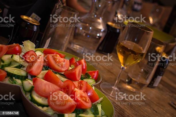 Tomato Salad Stock Photo - Download Image Now