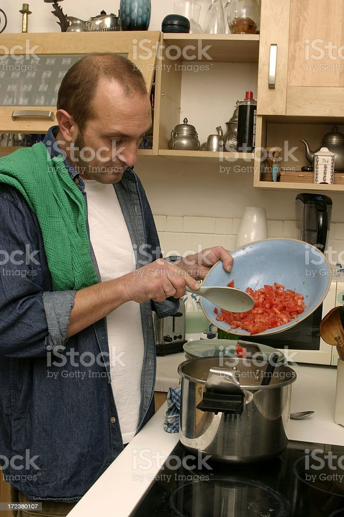Tomato sauce royalty-free stock photo