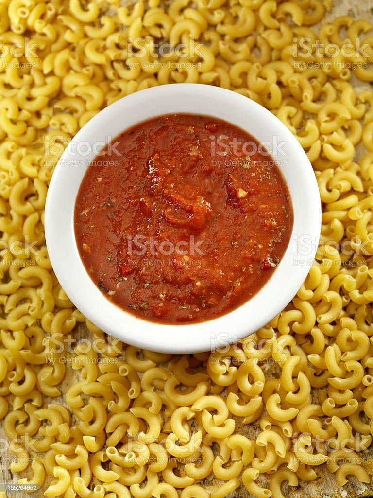 Tomato Sauce royalty-free stock photo