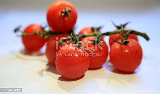 salvador, bahia / brazil - may 08, 2020: tomatoes are seen in the city of Salvador.