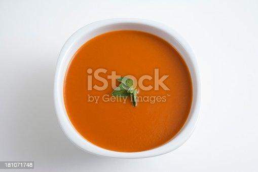 Tomato Soup. Macro, shallow focus.
