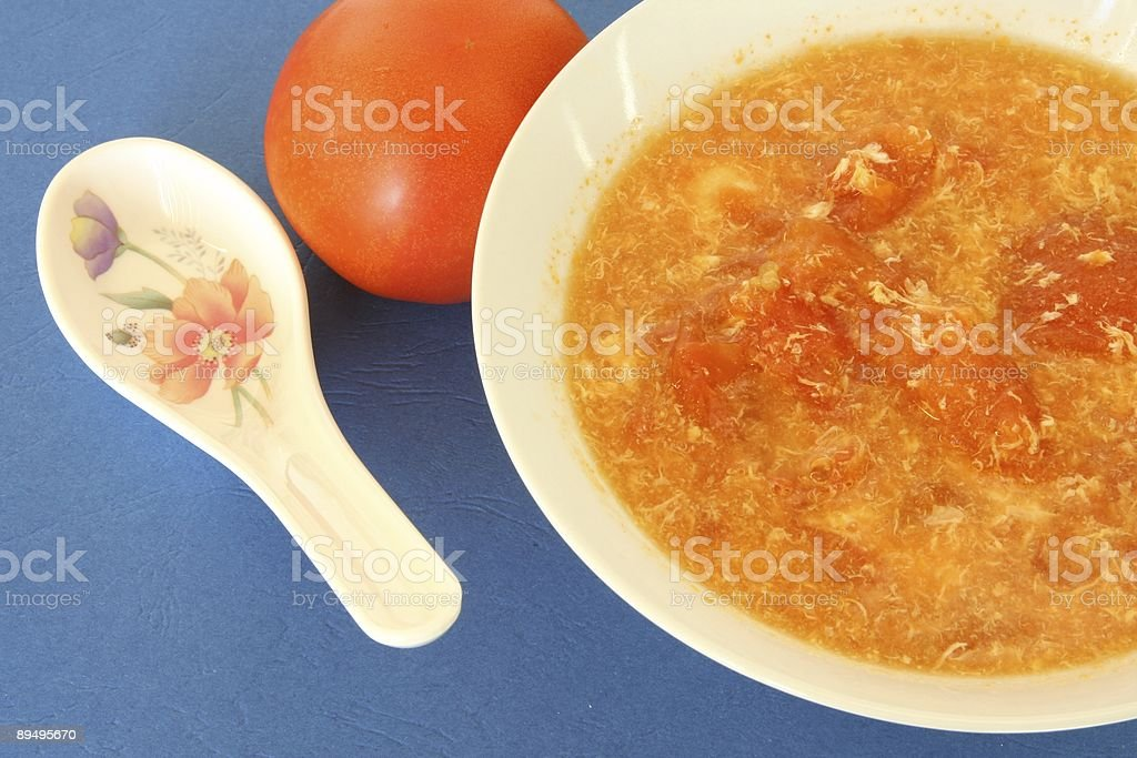Zupa pomidorowa zbiór zdjęć royalty-free