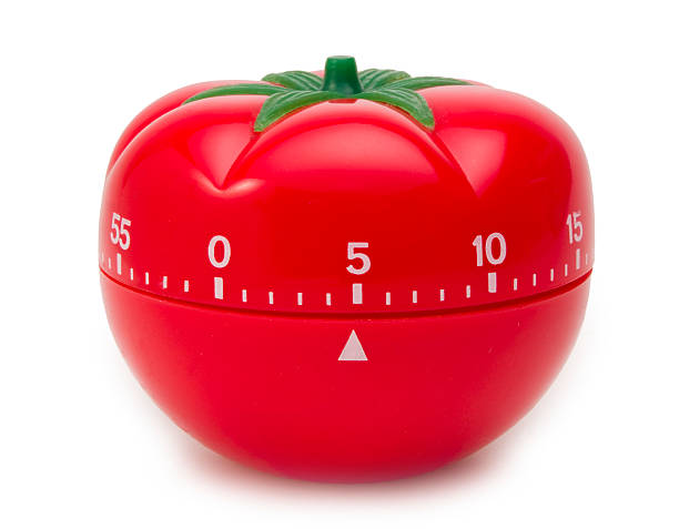 Tomato Timer Clock  timer stock pictures, royalty-free photos & images