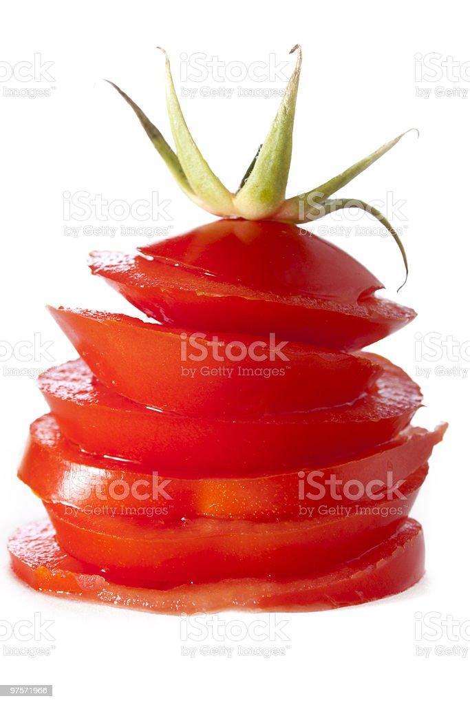 Tour de tomate photo libre de droits
